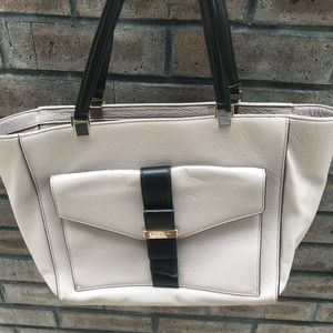 Kate Spade Mauve And Black tote Bag